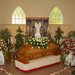 Blumenauswahl Beerdigung