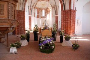 christliche Trauerfeier